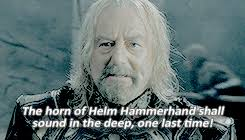 Image result for the horn of helm hammerhand shall sound in the deep