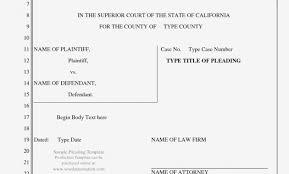 Contract California Pleading Form Legal Template Superior Court Ca
