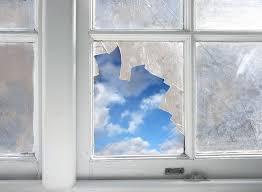 fix a broken window and its screen