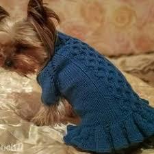 Как связать свитер для <b>собаки</b>: модель свитера с рукавами и ...