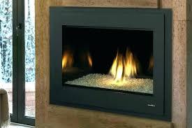 glass fireplace inserts gas