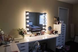 Diy Makeup Vanity Mirror Inspirations Also Fabulous Vanities For