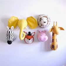 <b>Zebra</b>/<b>Elephant</b>/<b>Giraffe</b> 3D <b>Animal</b> Head Wall Decoration Unicorn ...
