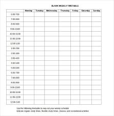 Calendar Blocking Template Block Schedule Template Template Business