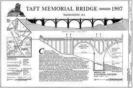architectural drawings of bridges. Taft Memorial Bridge Drawings Architectural Of Bridges