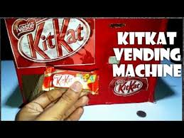 How To Make A Chocolate Vending Machine Custom How To Make KitKat Chocolate Vending Machine From Simple Trick
