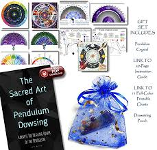 Amazon Com Crystal Pendulum With Download Link To 11 Charts