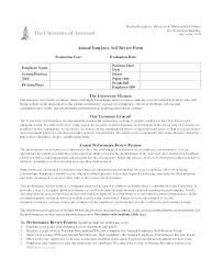 Employee Evaluation Template Interesting Annual Employee Review Template Evaluation Form Samples Sample