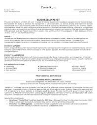 Business Analyst Resume Summary Examples Business Analyst Resume Summary Business Resume Sample Business 24