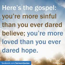 Gospel Quotes Beauteous Here's The Gospel SermonQuotes