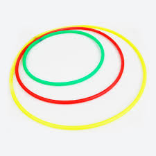 Yellow And <b>Green Plastic</b> Hula <b>Hoops</b>, Rs 80 /piece, JASDEVA ...