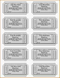 doc raffle ticket template for word com 11 printable raffle ticket template