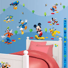 Mickey Mouse Bedroom Wallpaper Disney Mickey Mouse 58 Walltastic Stickers Great Kidsbedrooms