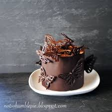 Not So Humble Pie Mini Chocolate Butterfly Cake