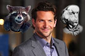 bradley cooper elephant man poster. Perfect Poster Bradley Cooper With Rocket Raccoon And Joseph Merrick The Real Elephant Man On Poster A