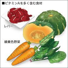 「ビタミンaの食材」の画像検索結果