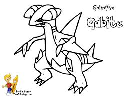 Coloring Download. Garchomp Coloring Pages: Garchomp Coloring ...