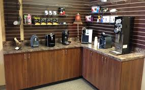 office coffee station. sampling station office coffee l