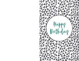 Birthday Printable Cards Free Printable Birthday Cards Paper Trail Design