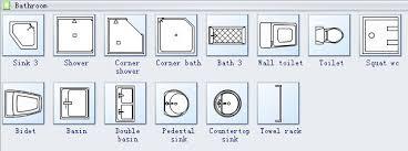 floor plan symbols bathroom. Plain Bathroom Home Plan Symbols 3 On Floor Bathroom N