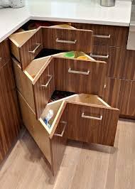 Kitchen Drawer Storage 30 Corner Drawers And Storage Solutions For The Modern Kitchen