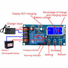 Led Emergency Light Circuit With Battery Overcharge Protection 30a 6 60v Battery Charger Control Module Overcharge Protection Control Switch Integrated Circuits
