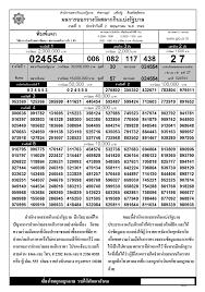 ตรวจหวย ตรวจผลสลากกินแบ่งรัฐบาล 2 พฤษภาคม 2549 ใบตรวจหวย 2/5/49