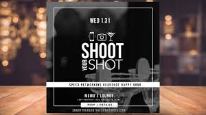 Shoot Your Shot Speed Networking Headshot Happy Hour Cw33 Dallas
