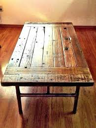 how to make a reclaimed wood coffee table how to make a coffee table out of