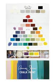 Annie Sloan Chalk Paint Color Chart The Chalk Paint Colour Card