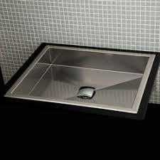 stainless steel vanity sink. Lacava 7200 Argento SelfRimming Or UnderCounter Stainless Steel Sink With Vanity
