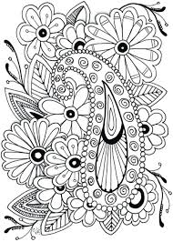 Flower Printable Coloring Pages Best Flower Coloring Pages Ideas On