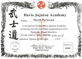 martial arts certificate template ideas of martial arts certificate templates on karate certificate
