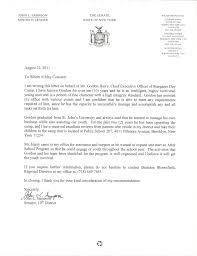Stargazer Senator Letter