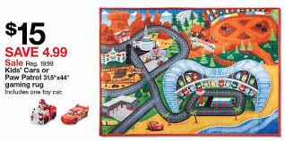 disney cars lightning mcqueen 3 2 7 x3 8 game rug
