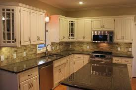 Off White Subway Tile gold light granite with and cream with subway tile backsplash off 7857 by xevi.us