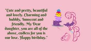 Top 40 Happy Birthday Wishes For Daughter [40] Adorable Happy Birthday Quotes For Daughter