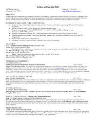 Objective For Resume For Computer Science Engineers Best of Sekhavat Sharghi Resume