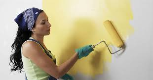 to paint a wall ceiling trim