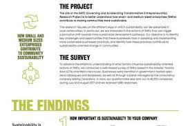 Survey Report Gate Survey Report Sustainability Policy Research On Urban