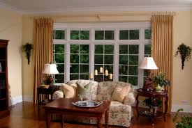 Window Treatment For Bay Windows In Living Room Window Treatments For Bay Windows In Dining Room Window