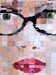 face quilt - I did a similar computer illustration, wonder if I ... & face quilt - I did a similar computer illustration, wonder if I can  translate it Adamdwight.com