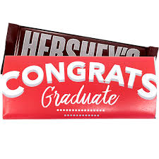 hershey candy bar wrapper graduation congratulations custom wrapped hersheys candy bar
