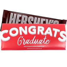 Graduation Congratulations Custom Wrapped Hersheys Candy Bar