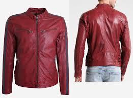 arrow red men leather jacket uiyiuygff zoom helmet