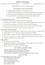 Abilities In Resume For Resume Skills And Abilities Kisal Us