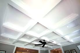 faux coffered ceiling wonderful kits home depot design ideas diy