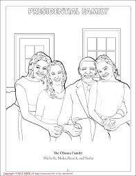 Michelle Obama Black History Month Coloring Pages Printable ...