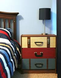 Suitcase Nightstand suitcase dresser how to build suitcase dresser home 8786 by guidejewelry.us