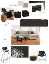 Above; Sample furniture selection presentation.